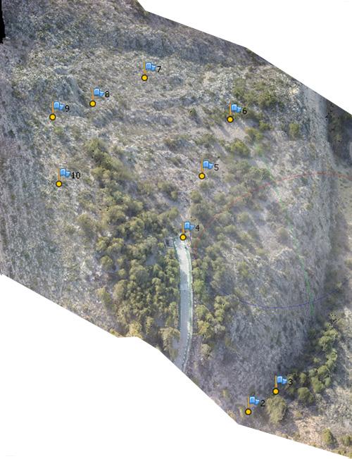 Levantamiento topográfico realizado mediante Dron