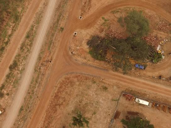 servicios de drones camino