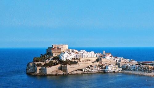 castillos de la comunidad valenciana Peñíscola