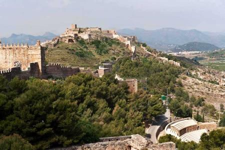 castillos de la comunidad valenciana sagunto