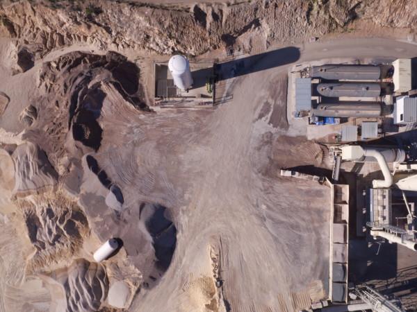drones y topografia mineria