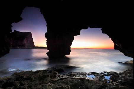 Playas de la Comunidad Valenciana cala ambolo cueva
