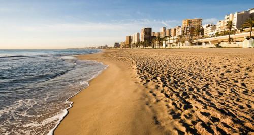 Playas de la Comunidad Valenciana playa muchavista