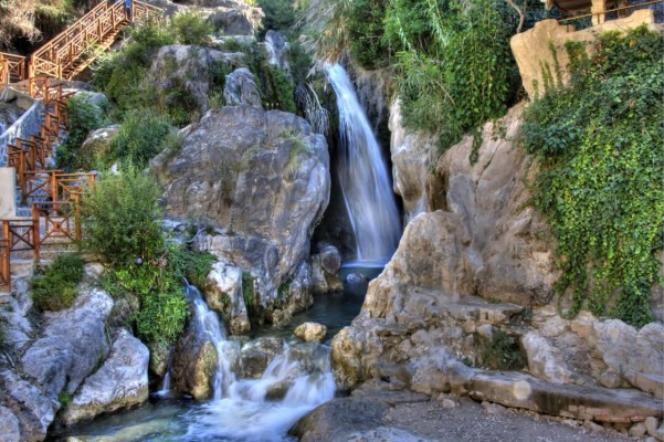 Piscinas naturales de la Comunidad Valenciana Fuente del Algar