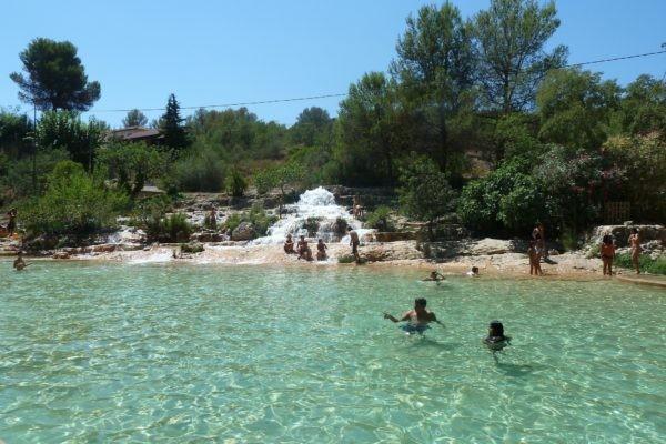 Piscinas naturales de la Comunidad Valenciana Lago de Anna