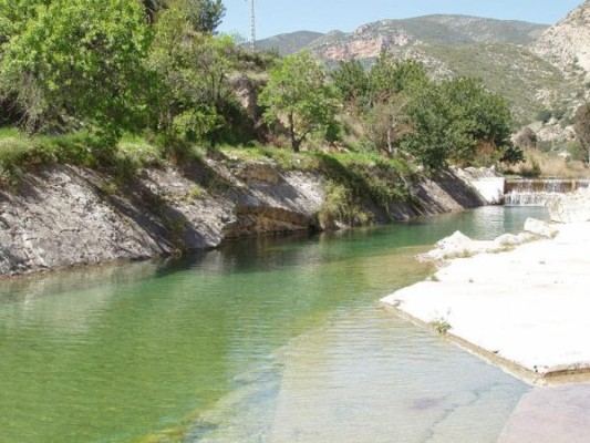 Piscinas naturales de la Comunidad Valenciana Sot de Chera
