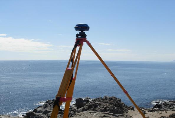 GPS en topografía equipos