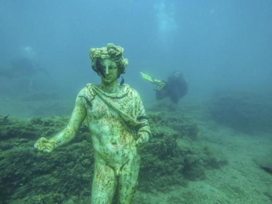 arqueología subacuática ciudad perdida