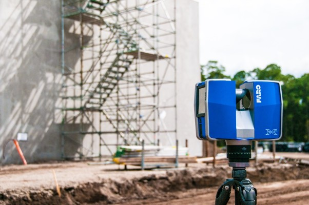 Escáner 3D en arquitectura usos