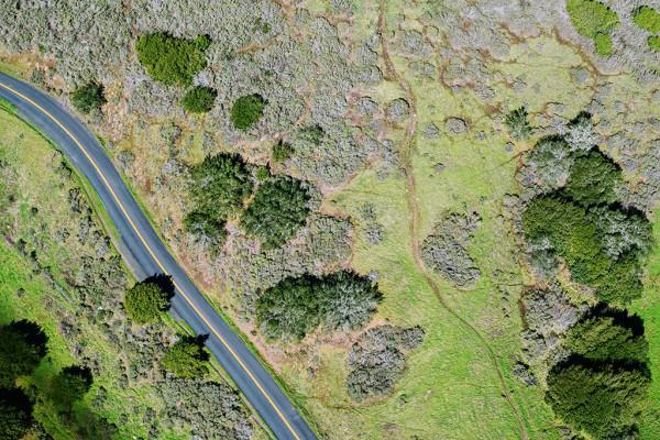 Cartografía y drones solape