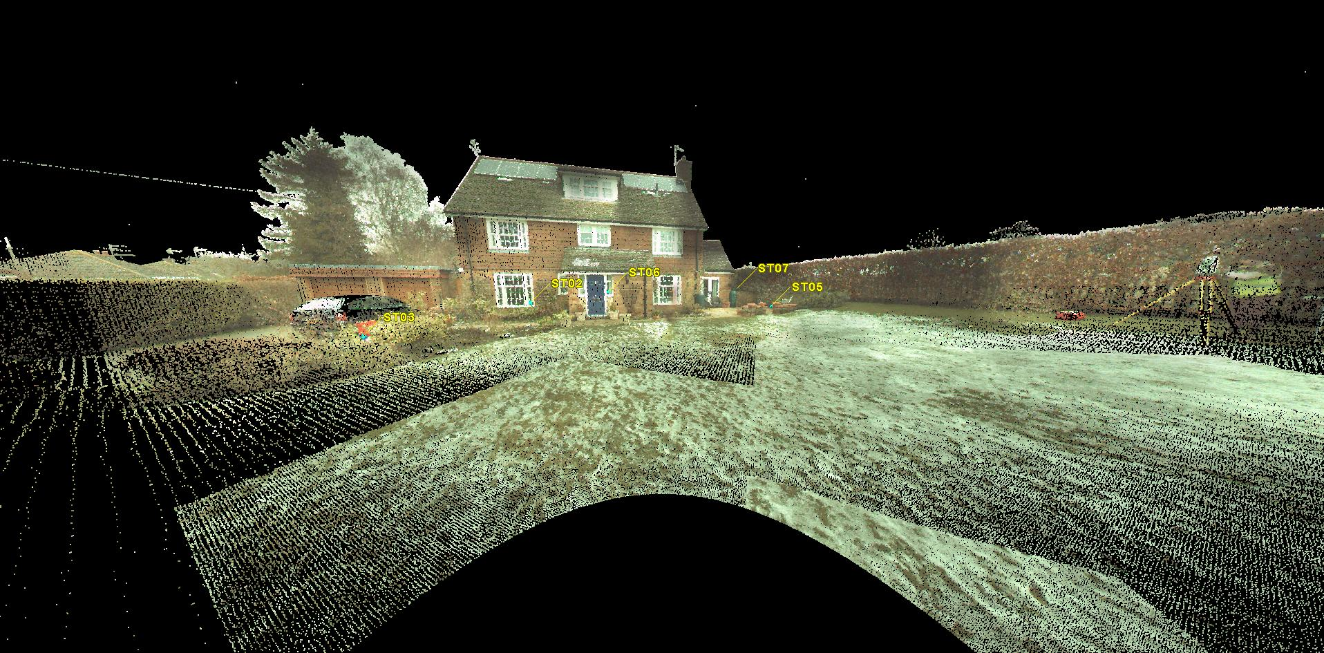 Escáner 3D en arquitectura - 4D Metric Topografía, Laser